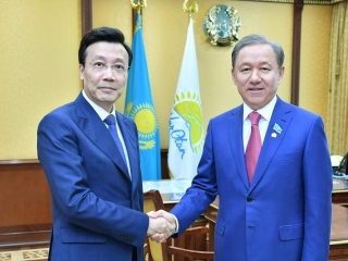 Kazakhstan, China to strengthen inter-parliamentary ties