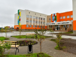 600-seat school opened in N Kazakhstan