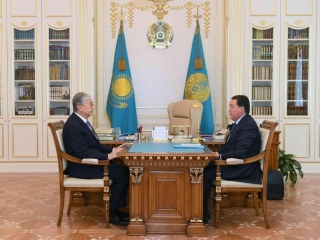 Kazakh President receives PM