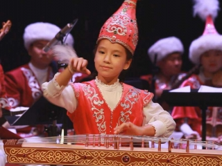 Kazakh steppe melodies brought to Scotland