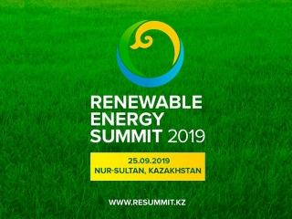 Renewable Energy Summit to take place in Nur-Sultan