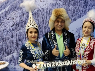 Kazakhstan takes part in int'l tourism exhibition in Kuala Lumpur