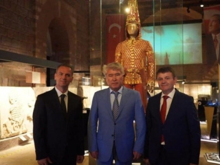 'Golden Man' exhibition opens doors in Turkey