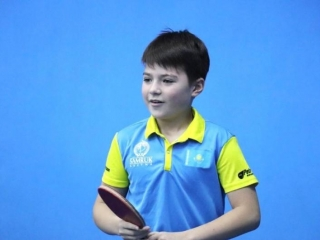 ITTF Hopes Week names Kazakh Kurmangaliyev the Best Young Tennis Player 2019