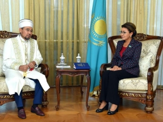 Senate Speaker, head of Spiritual Administration of Muslims of Kazakhstan meet
