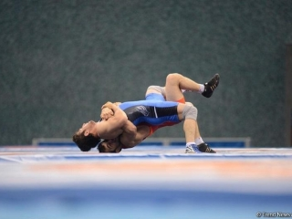 Azerbaijani wrestlers mark start of World Championship in Kazakhstan with victory