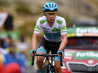 Vuelta a España. Astana's Lopez 11th at last mountain stage 20