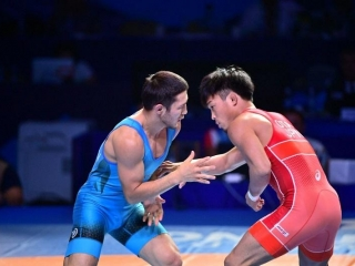 Kazakhstan pockets bronze at World Wrestling Championships