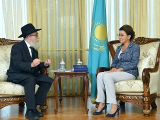 Dariga Nazarbayeva received Chief Rabbi of Kazakhstan