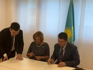 Kazakhstan, U.S. signed joint statement on HEU minimization