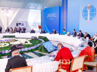 Meeting of leaders of world's largest religious confessions in the heart of Eurasia became a good tradition – Senate Speaker