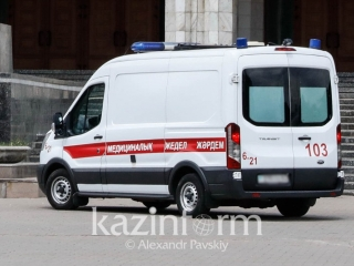 Three children from same family hit by car in Almaty
