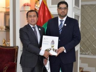 UAE Ambassador meets with Commissioner-General of Kazakh Pavilion at Expo 2020 Dubai