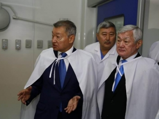Vice PM praised semi-digital operation room in E Kazakhstan
