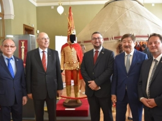 History and Culture of Great Steppe exhibition opened in Prague