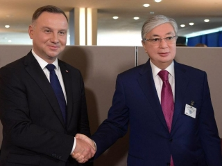 Kazakh, Polish Presidents consider prospects of bilateral coop