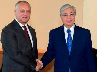 Kazakhstan and Moldova focus on widening political cooperation