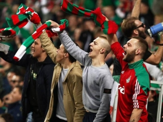 UEFA Champions League match between Russia's Lokomotiv and Atletico Madrid sold out
