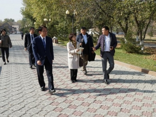 SGI Japan delegation visited Semey