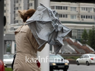 Storm warning announced in two regions of Kazakhstan
