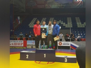 Kazakh freestyle wrestler wins Intercontinental Cup in Russia