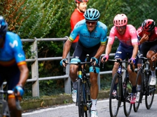 Il Lombardia. Jakob Fuglsang finishes season with fourth place in final monument race