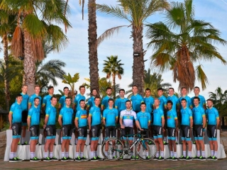 Astana Pro Team finished record season in Guangxi