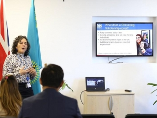 British Embassy in Kazakhstan held Chevening Briefing session for those interested in