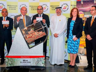 Indian, Kazakhstani win $1m each at Dubai Duty Free raffle