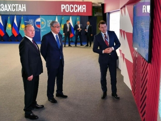 Tokayev, Putin acquainted with several joint projects