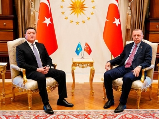 PM Mamin meets with Turkish President Erdogan in Istanbul