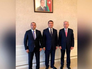 Kazakh Ambassador meets with members of Milli Majilis of Azerbaijan
