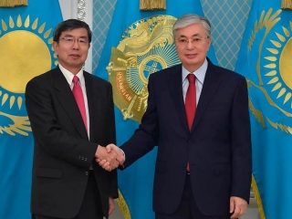 Kazakh President receives head of Asian Development Bank