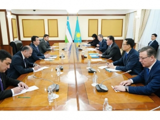 Kazakhstan, Uzbekistan adopt roadmap for enhancing cooperation in agriculture