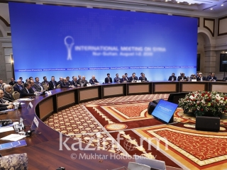 Kazakh capital to host regular High-Level Meeting on Syria Dec 10-11