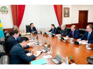 Kazakh PM, ROSATOM Dir Gen meet in Nur-Sultan
