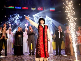 Closing сeremony of Osh, Cultural Capital of Turkic World 2019, held in Kyrgyzstan