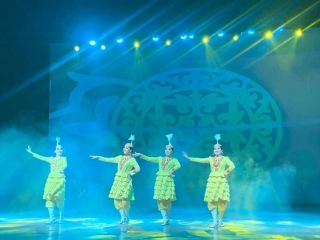 ENU Student's Philharmonic Society  joined 6th Intl Festival of Folk Dance and Music in India