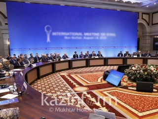 Talks on Syria kick off in Kazakhstan's Nur-Sultan