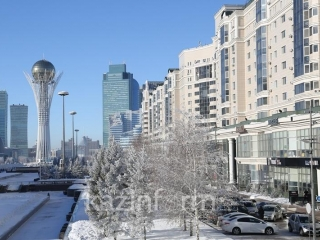 Abnormally warm weather to give way to cold spell in Kazakhstan