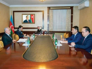 Kazakh Ambassador meets Chairman of Ali Majlis of Nakhchivan Autonomous Republic