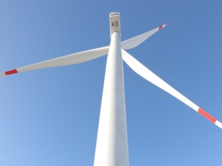 First windpower plant launched in Aktobe region