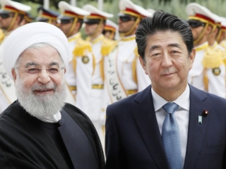Rouhani arrives in Tokyo, 1st Iran president Japan visit since 2000