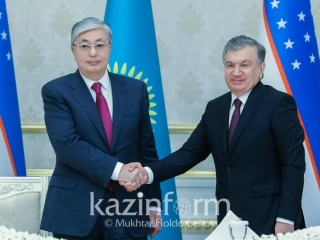 Kazakh, Uzbek leaders congratulate each other on upcoming New Year