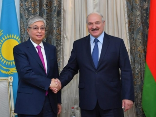 Kazakhstan, Belarus presidents focus on bilateral cooperation