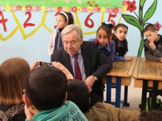 Guterres's message for 2020: In world of turmoil, youth are its 'greatest source' of hope