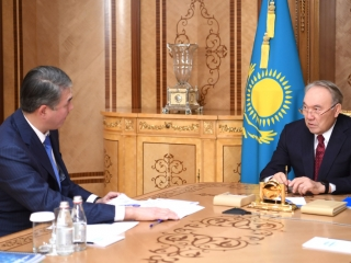 Nazarbayev receives Executive Director of First President's Fund