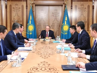Elbasy chairs meeting of First President's Office