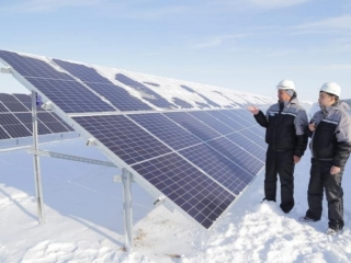 New solar power plant commissioned in Karaganda region