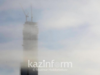 Foggy Sunday in store for some regions of Kazakhstan